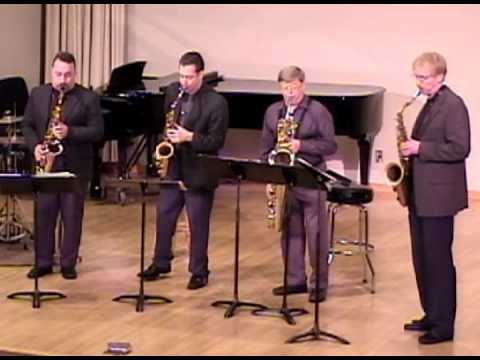 """""""Wade in the Water"""" played by the Hard-Bop Sax Quartet"""