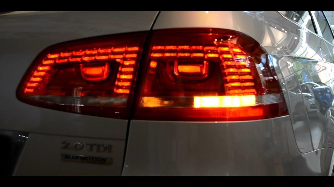 2014 Original Vw Passat Variant Led Rear Light Tail Lights