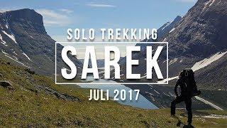 Sarek [Schweden] Solo Trekking - Juli 2017