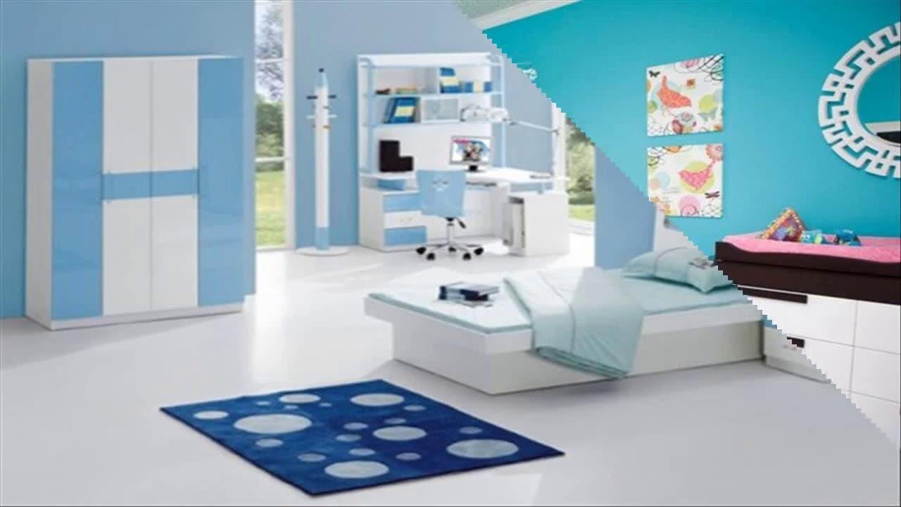 47 Inspirasi Desain Kamar Tidur Biru Putih Idrs24 Youtube