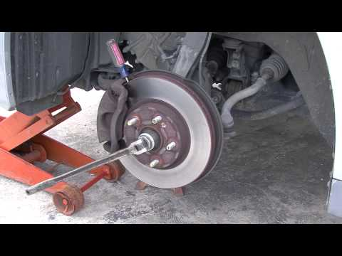 How to make getting your CV axle nut off easier