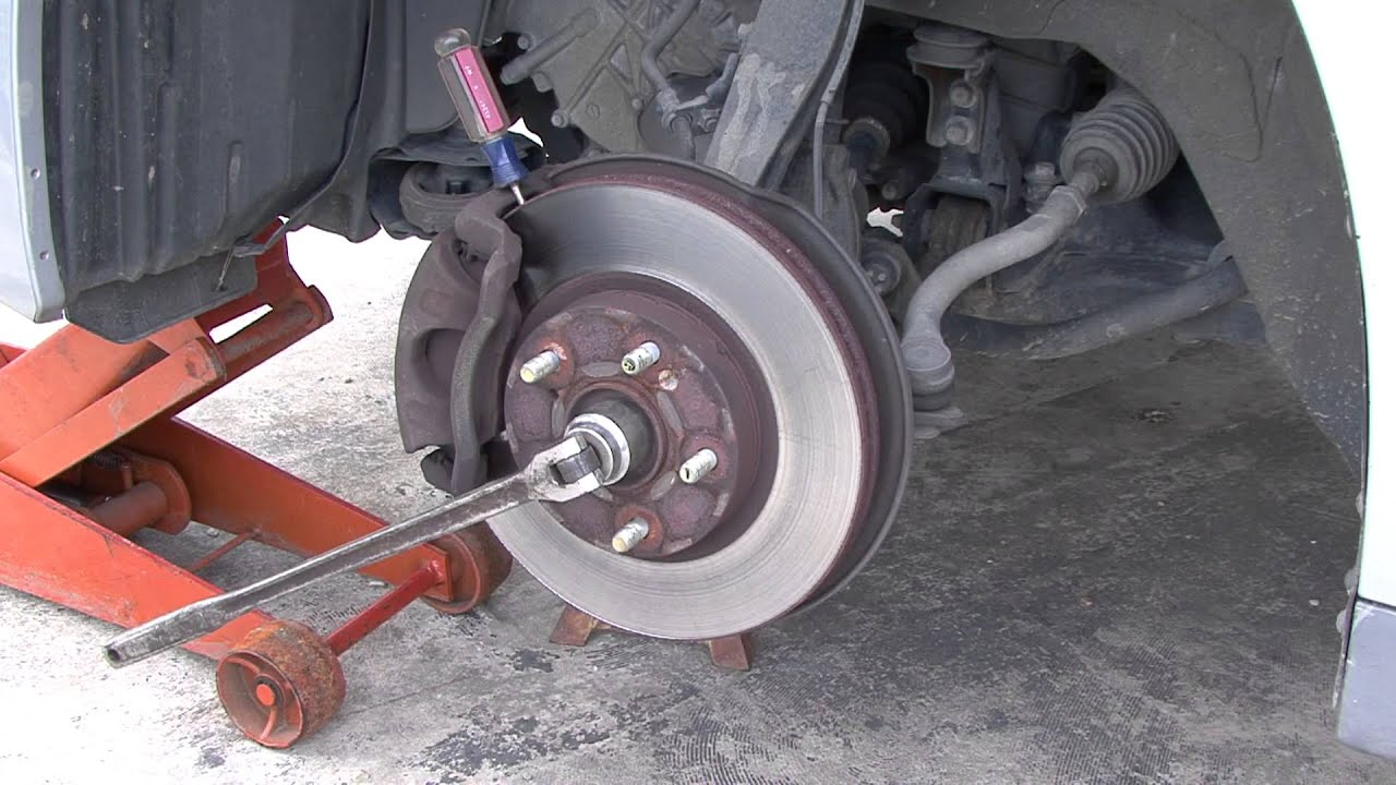 How To Make Getting Your Cv Axle Nut Off Easier Youtube
