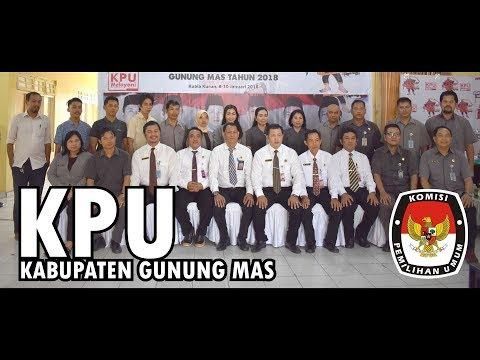 KPU Gunung Mas - Pilkada Serentak 2018   JV Creative