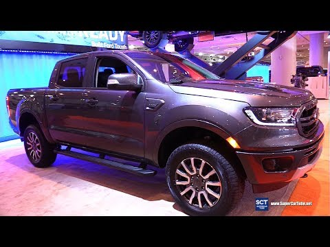 2019 Ford Ranger Lariat Supercrew - Exterior and Interior Walkaround - 2019 New York Auto Show
