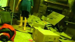 Cardboard Box Fort #1