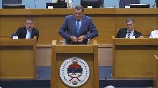 Milorad Dodik u burnom sukobu sa Draskom i Jelenom (BN Televizija 2019) HD