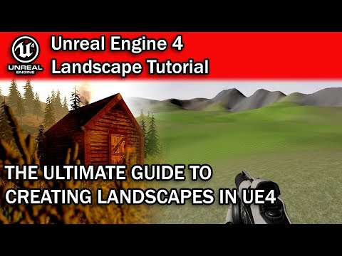 WORLD'S BEST UNREAL ENGINE 4 LANDSCAPE TUTORIAL! | UE4 Landscape Tutorial for Beginners