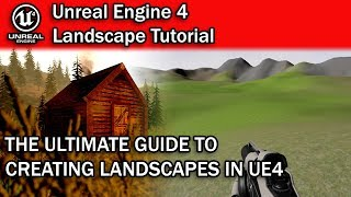 WORLD'S BEST UNREAL ENGINE 4 LANDSCAPE TUTORIAL! | UE4 Landscape Tutorial for Beginners