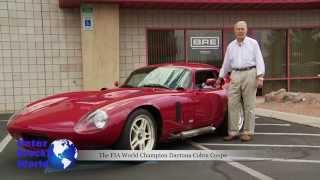 Peter Brock talks about the original Daytona Cobra Coupe