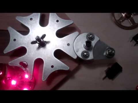 Geneva Wheel Cam Gear Indexing  Running On A Gear Motor