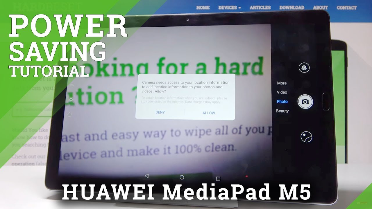How to Enable Power Saving Mode in HUAWEI MediaPad M5 - Low Power Solution