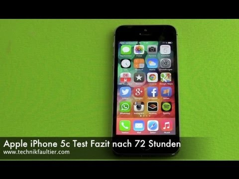 Apple iPhone 5c Test Fazit nach 72 Stunden