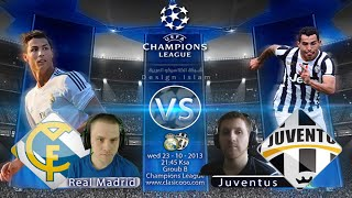 Real Madrid vs. Juventus / FIFA 15 / Pre-Match