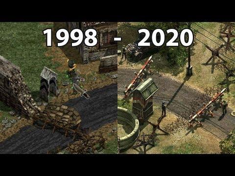 Evolution Of COMMANDOS Games 1998 - 2020