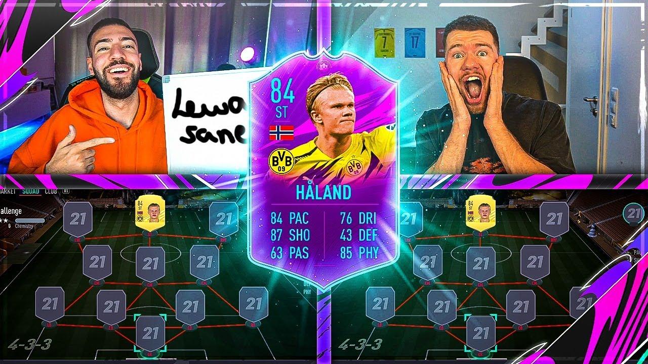FIFA 21: HALAND Squad Builder Battle ?? Proownez vs Wakez !!