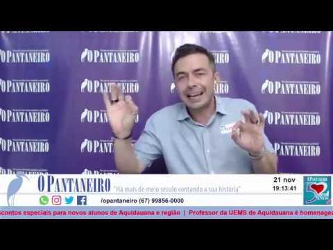 Luis Rosario participa na live do PANTANEIRO NO FACEBOOK