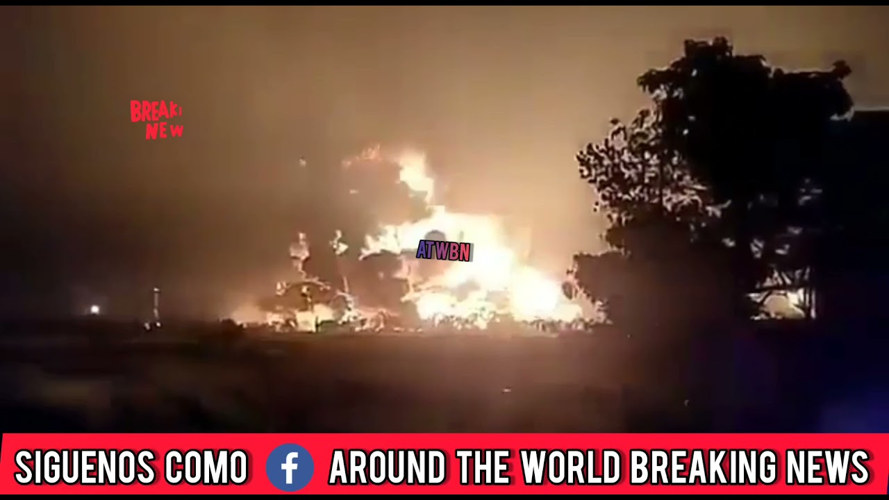 Explosión en refineria
