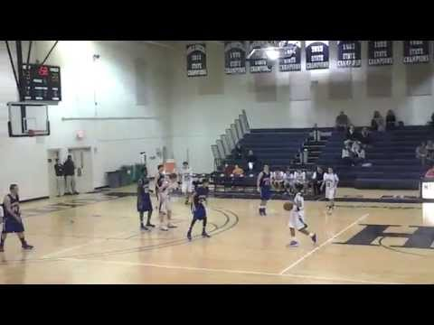 Jae King (#10), #Laurence Manning Gm #2 (8 pts),Point Guard, Class of 2018, Columbia, SC (2nd half)