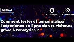 Comment tester et personnaliser l'expérience en ligne de vos visiteurs grâce à l'analytics ?