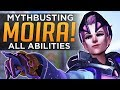 Overwatch: Moira Mythbusted! - All Ability Counters & Effects