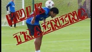 Hulk training FC Zenit ● Best shots, lobs, skills, free kicksᴴᴰ/Лучшее на тренировке Зенита от Халка
