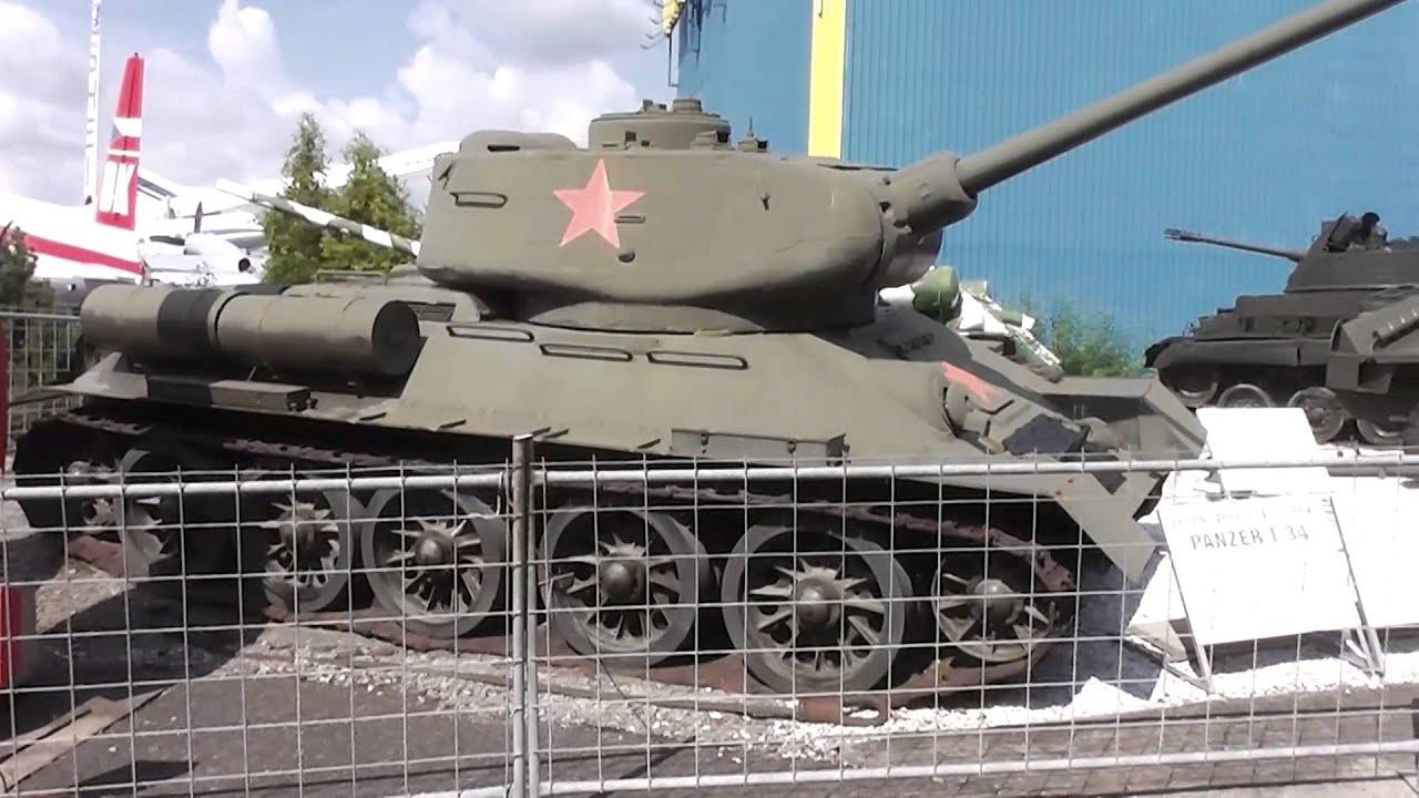 t34 panzer aus russland im technikmuseum sinsheim youtube. Black Bedroom Furniture Sets. Home Design Ideas