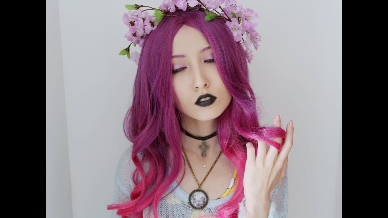 Pastel Goth Inspired Makeup YouTube