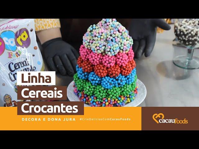 Modos de Aplicações - Linha Cereais Crocantes #CrieDelíciasComCacauFoods