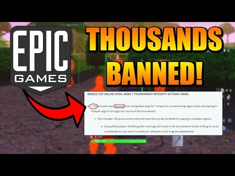 Epic Games BANS Thousands Of CHEATERS! (Dubs Is INNOCENT!)