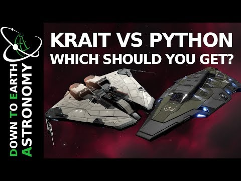 Krait Vs Python - Which Should You Get | Elite Dangerous