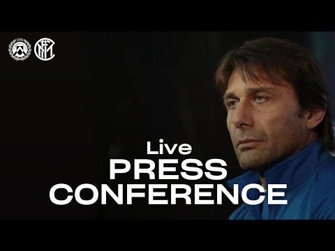 UDINESE vs INTER | LIVE | ANTONIO CONTE PRE-MATCH PRESS CONFERENCE | 🎙⚫🔵 [SUB ENG]