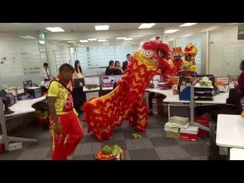 Appco Singapore lion dance