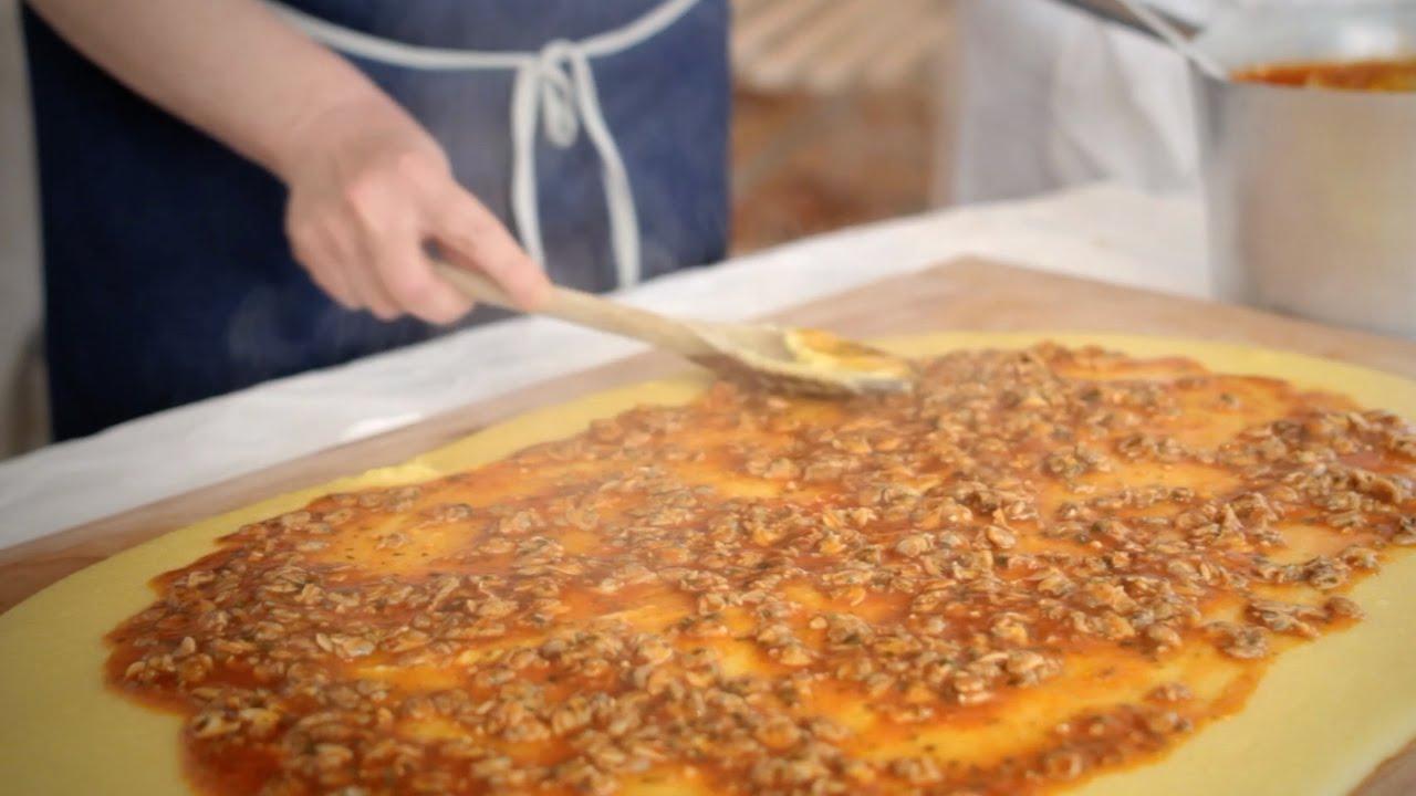 le ricette di una volta polenta con sugo di vongole