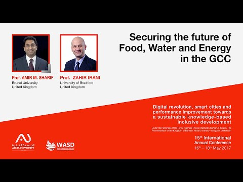 Securing the future of Food, Water and Energy in the GCC