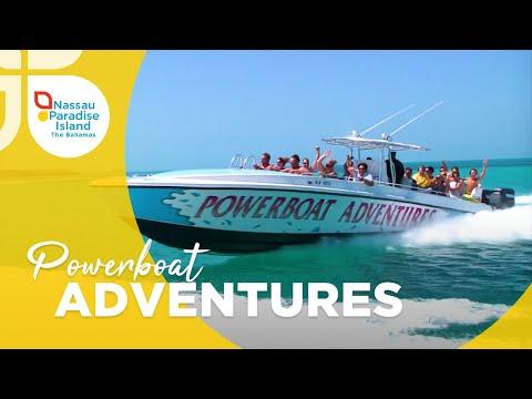 Nassau Paradise Island | Powerboat Adventures Boat Tour