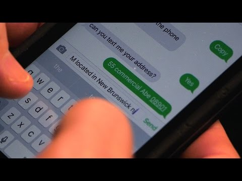 Sending a Text to 911
