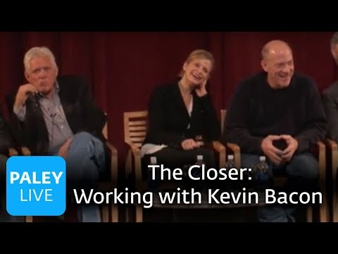 The Closer - Kyra Sedgwick on Working with Kevin Bacon (Paley Center, 2007)