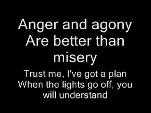Three Days Grace-Pain Lyrics