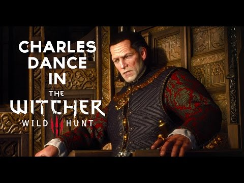 Charles Dance (aka Tywin Lannister) in The Witcher 3 - Official Behind the Scenes Trailer