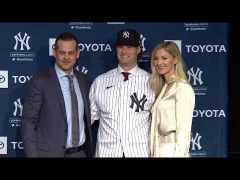 Gerrit Cole Press Conference (FULL) | New York Yankees