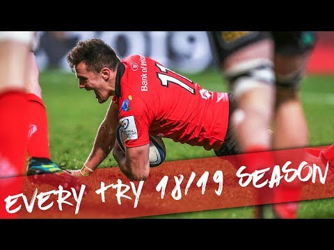 Every try from the 2018/19 season | Ulster rugby