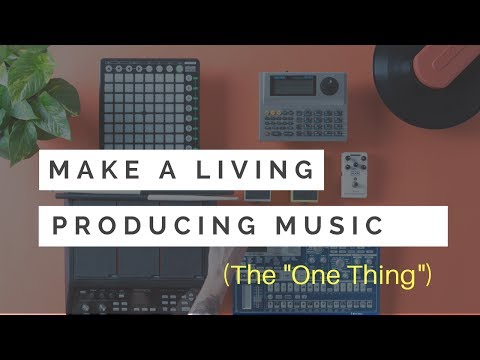 Make A Living Producing Music - The