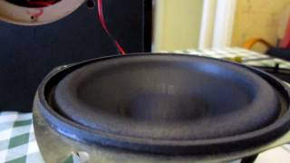 Subwoofer vibration [HD]