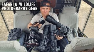 photography gear recommendations for wildlife safari