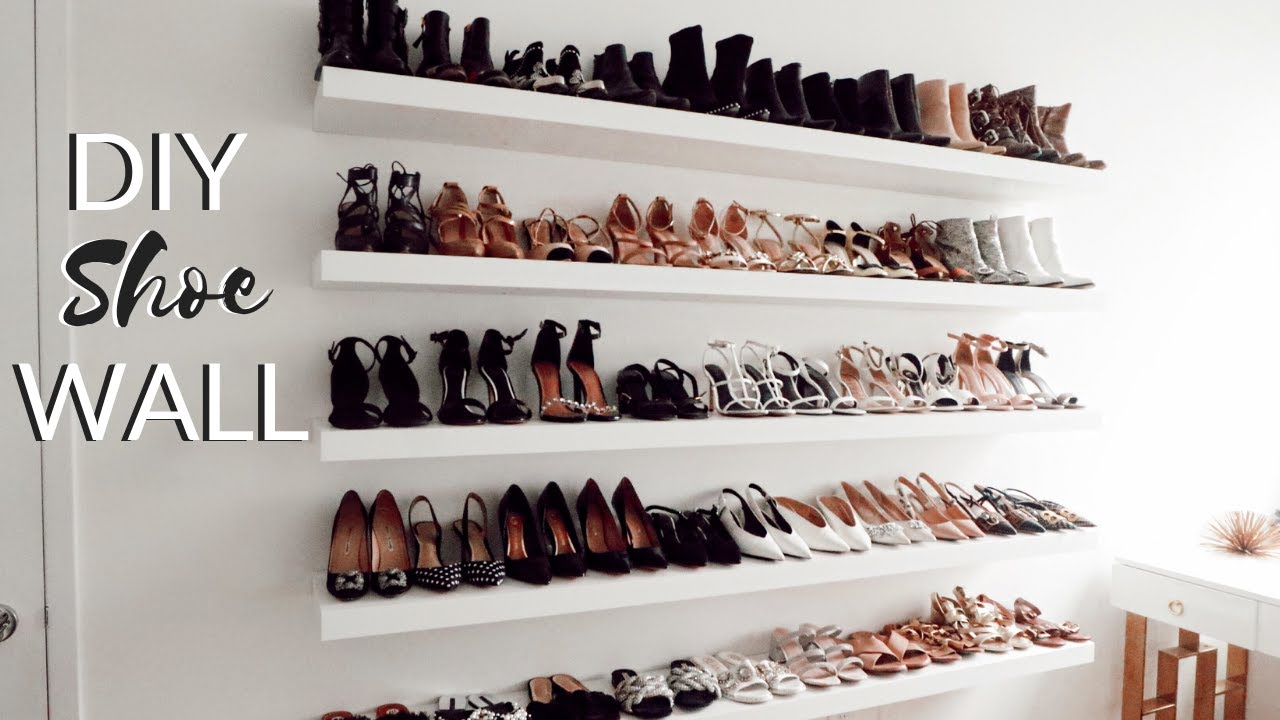 diy shoe storage idea ikea hack ikea lack