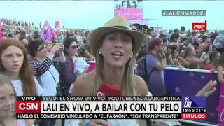 C5N - Verano 2016: Show de Lali Esposito en Mar del Plata