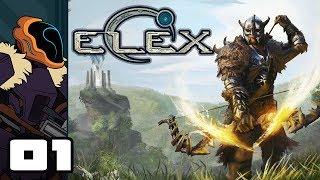 Let's Play Elex - PC Gameplay Part 1 - The Adventures Of Deep-Voice McBroodington