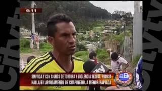En un apartamento de Chapinero apareció cuerpo sin vida de menor raptada | City TV | Diciembre 05