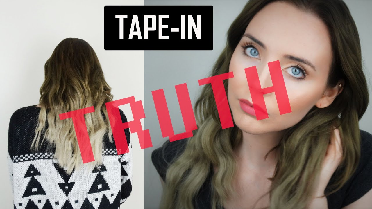 The Truth About Tape In Extensions What You Need To Know Youtube