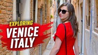 Venice, Italy - Canals, Bridges & Landmarks - 4K 🇮🇹